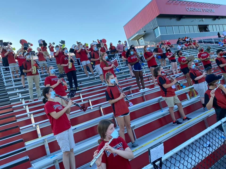 Farmington Crimson Regiment Adjusts To COVID-19 Restrictions