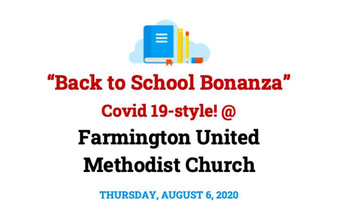 2020 Back to School Bonanza