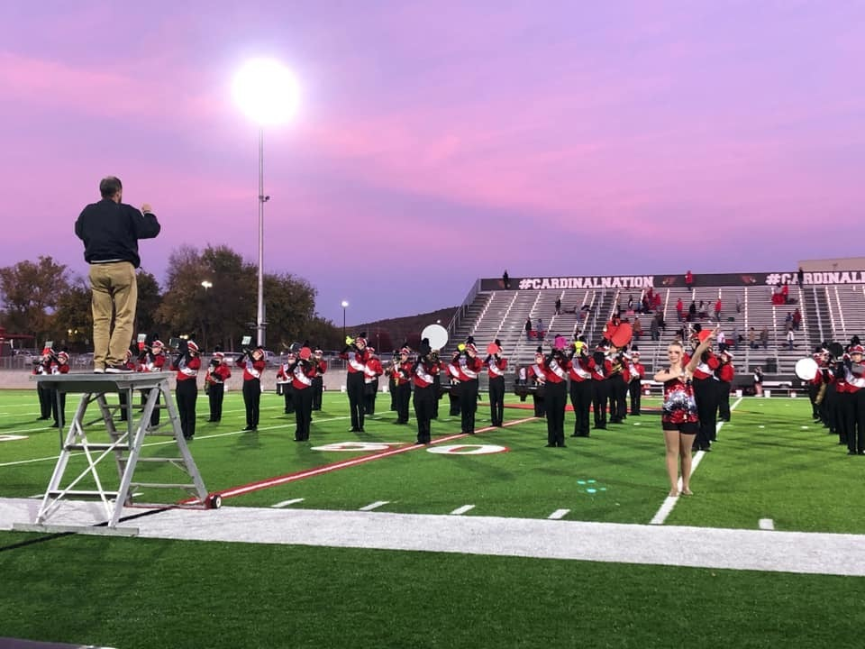 Crimson Regiment Prepares For Regional Marching Assessment