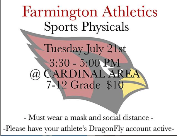 Grades 7-12 Physicals