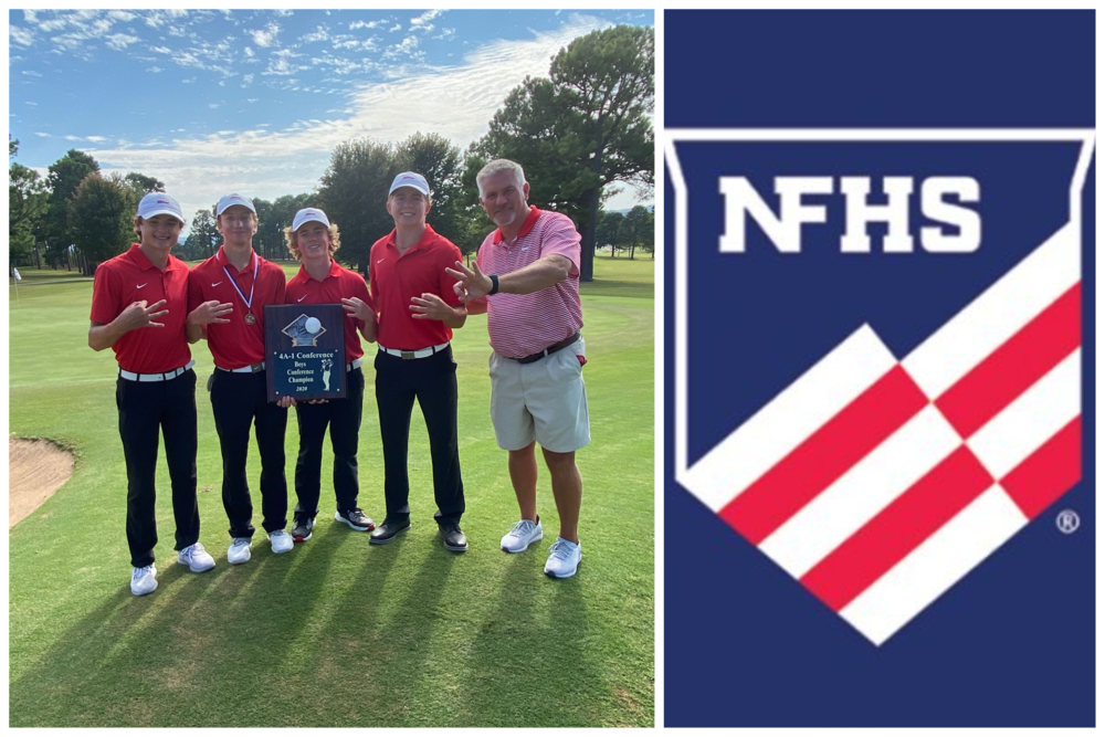 Coach Osnes Wins NFHS Arkansas Boys Golf Coach of the Year