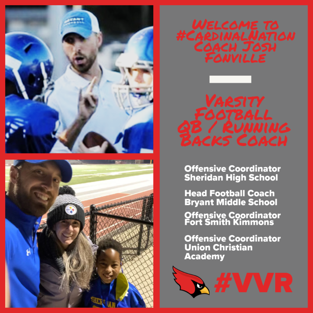 Pictures of Coach Fonville & family